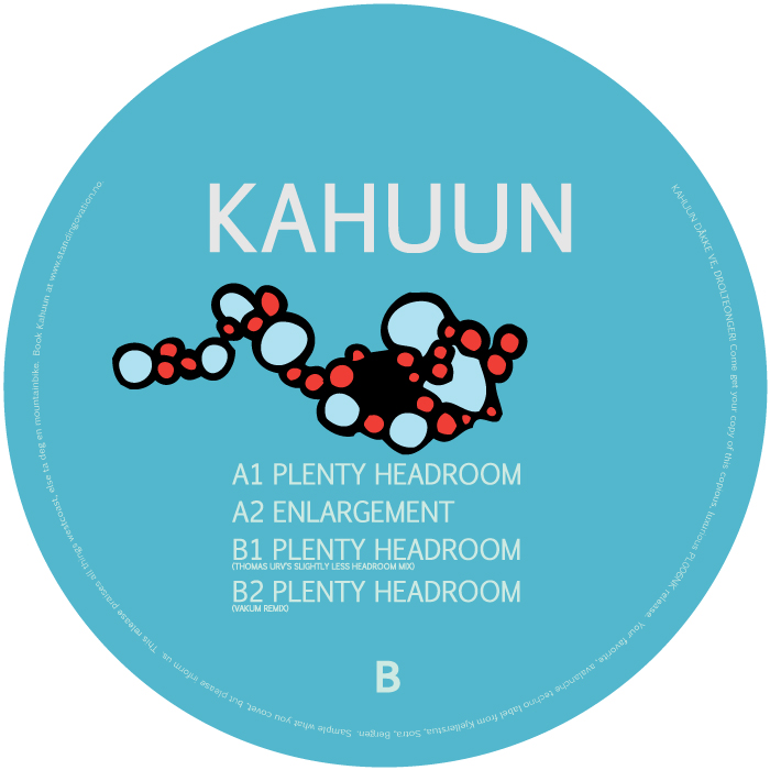 PL006NK<br />KAHUUN<br />PLENTY HEADROOM EP<br />Release date: 8JUN15