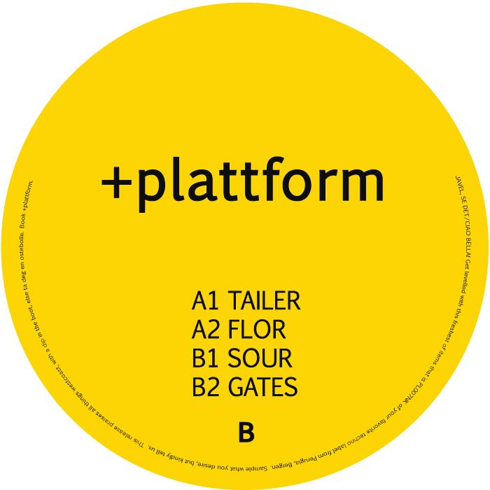 PL007NK<br />+PLATTFORM<br />TAILER EP<br />Release date: 17AUG15