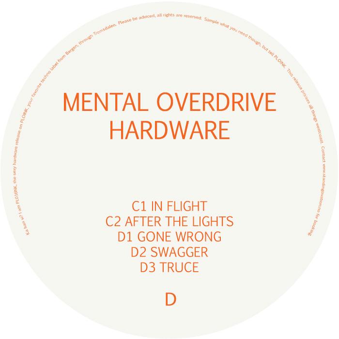 PL016NK<br />MENTAL OVERDRIVE<br />HARDWARE (2LP)<br />Release date: 06MAR17