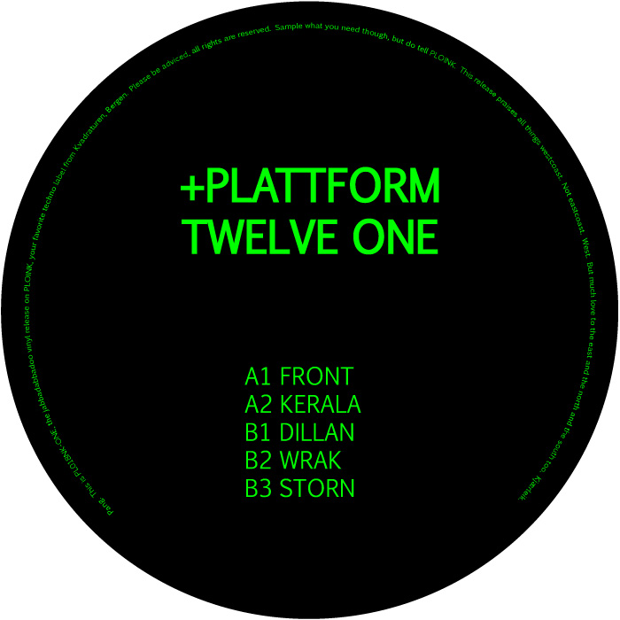 PL018NK-ONE<br />+PLATTFORM<br />TWELVE (ALBUM)<br />Release date: 2JUN17