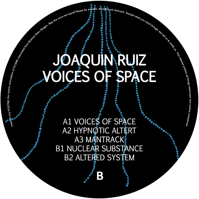 PL027NKJOAQUIN RUIZVOICES OF SPACE (ALBUM)Release date: 28aug20