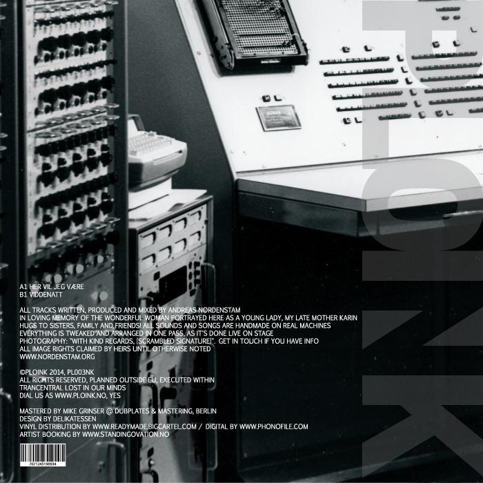 PL003NK<br />NORDENSTAM<br />HER VIL JEG VÆRE EP<br />Release date: 08DEC14
