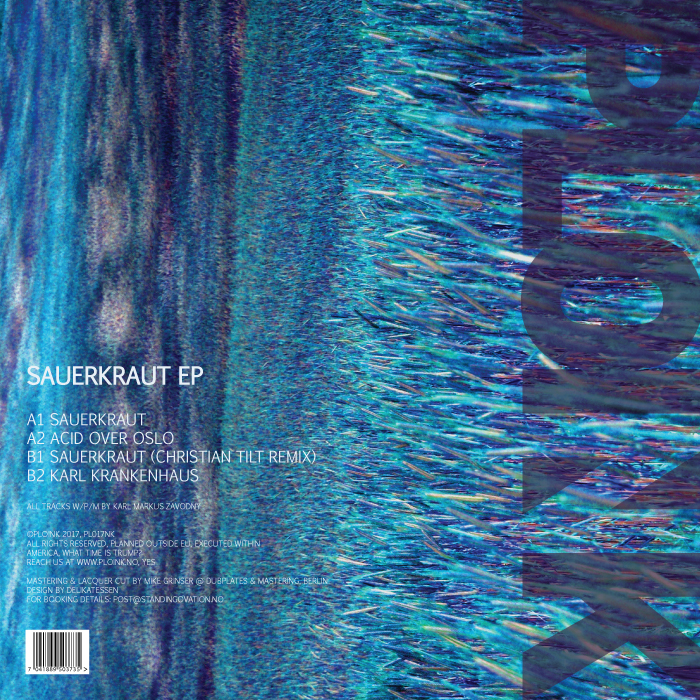 PL017NK<br />DORTMUND<br />SAUERKRAUT EP<br />Release date: 21APRIL17