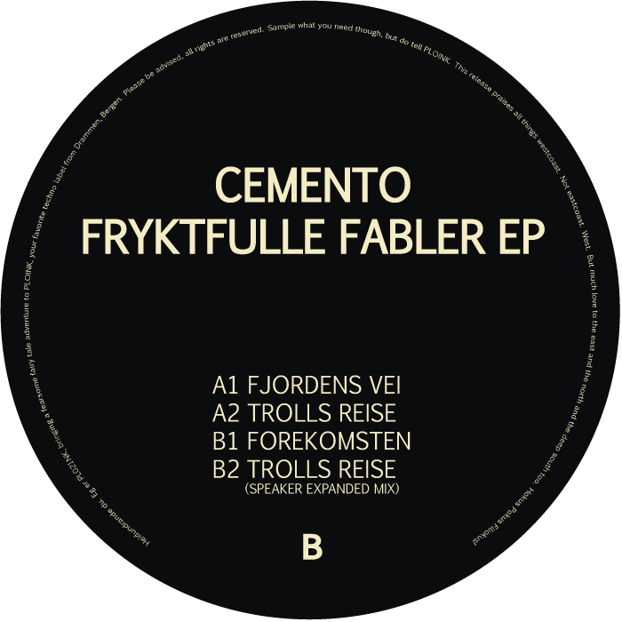 PL021NK<br />CEMENTO<br />FRYKTFULLE FABLER EP<br />Release date: 08december17