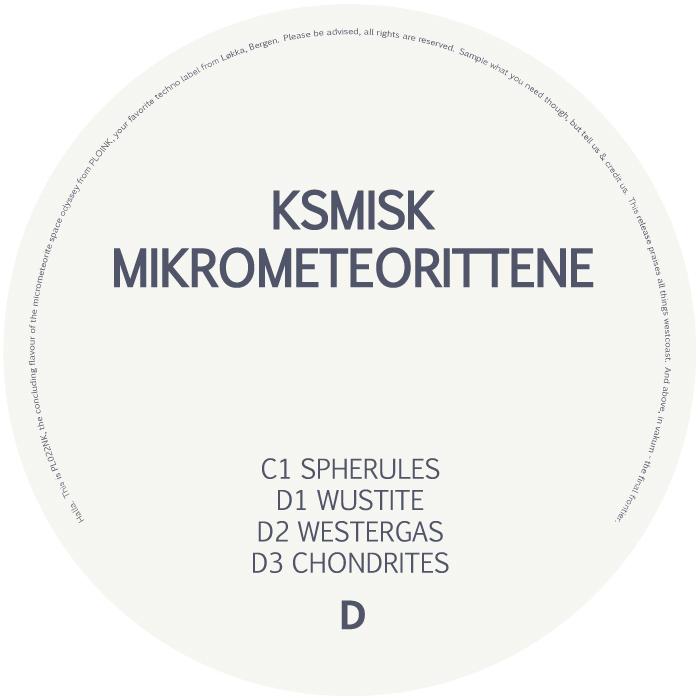 PL022NK<br />KSMISK<br />MIKROMETEORITTENE<br />Release date: 23february18
